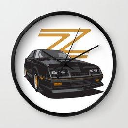 Daytona Turbo Z / CS - black/gold Wall Clock