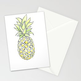 Pineapple Pop Stationery Cards