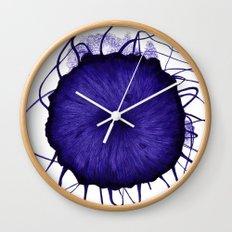Sea Jelly Wall Clock
