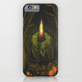 Halloween Bonfire iPhone Case