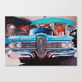 mel's diner Canvas Print