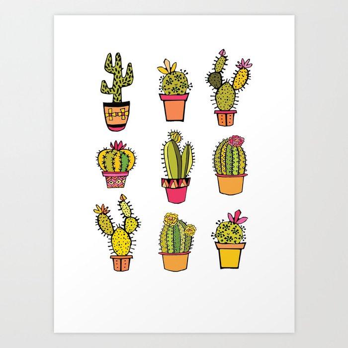 little piece of desert ... Art Print