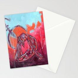 Scorpio | Yoga Art Stationery Cards