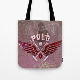 POLO red Tote Bag
