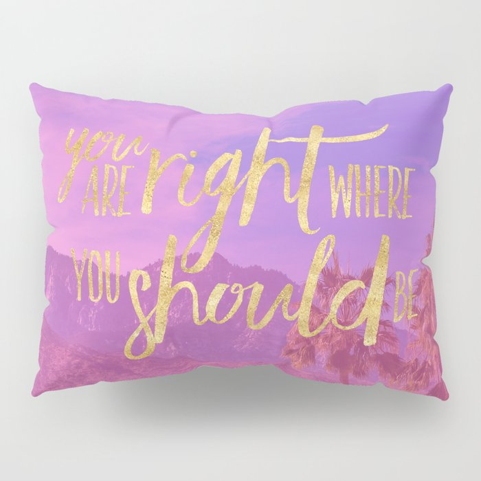 You are RIGHT where you should be. Pillow Sham