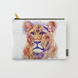Lioness Head Carry-All Pouch