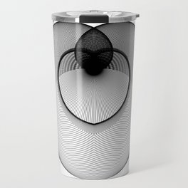 The Heart . Geometric Colletion Travel Mug