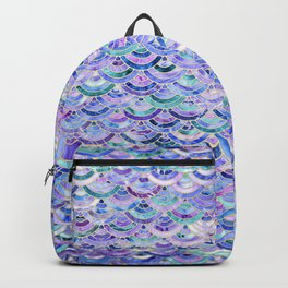 Marble Mosaic in Amethyst and Lapis Lazuli Backpack