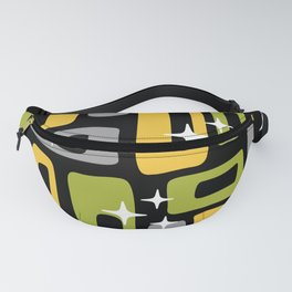 Retro Mid Century Modern Abstract Pattern 617 Fanny Pack