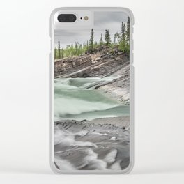 Whirlpool Canyon, YT Clear iPhone Case