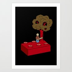 Construct and Destroy Art Print