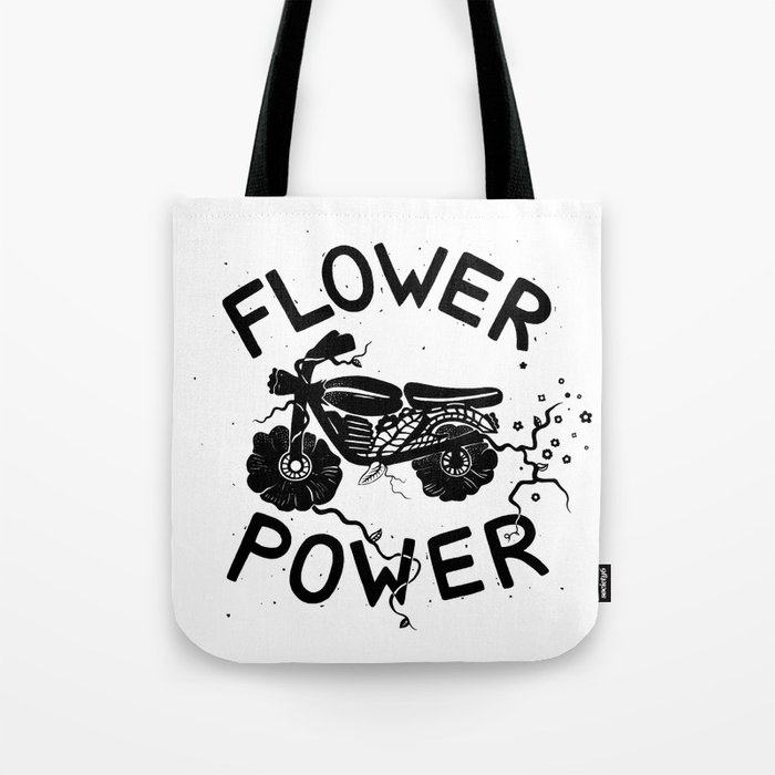 Floral Fuel Tote Bag