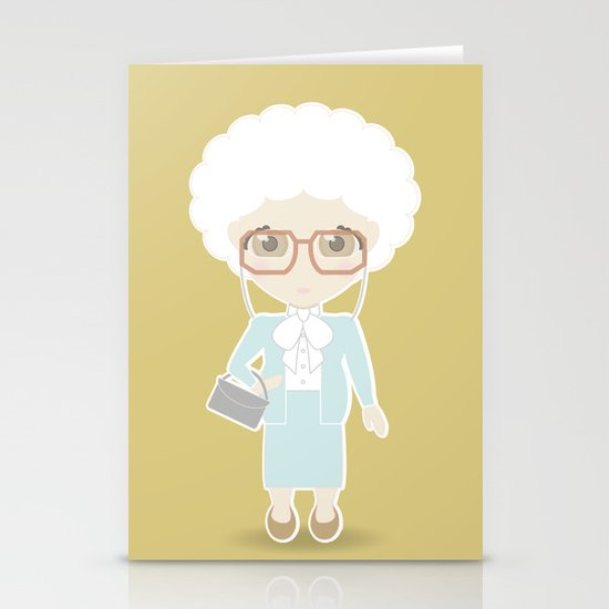 Girls in their Golden Years - Sophia Stationery Cards