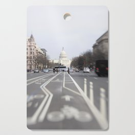 In the Streets of DC Cutting Board