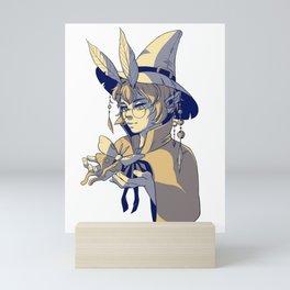 Moth Mage Mini Art Print