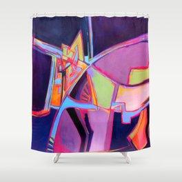 Fractal Gears Shower Curtain
