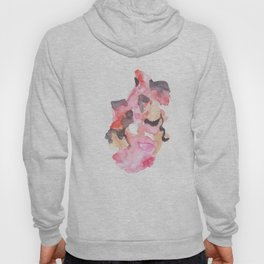Watercolor Pink Black Gold Flow | [dec-connect] 52. breakfree Hoody