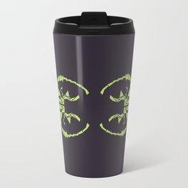 Envious Beetle - Geometric Insect Design Travel Mug