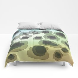 Free Form abstract art Comforters