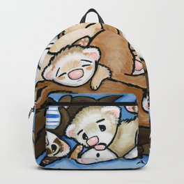 Wall to Wall Weasels Backpack