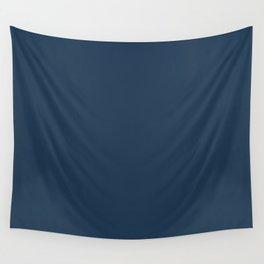 Pratt and Lambert 2019 Noir Dark Blue 24-16 Solid Color Wall Tapestry