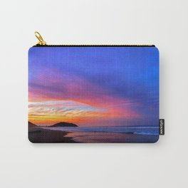 Colorful Sunset Ocean Tropical Beach Carry-All Pouch