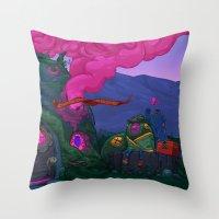 Smokehouse Throw Pillow