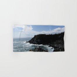 Scenic Coastal Views From the Trail Hand & Bath Towel