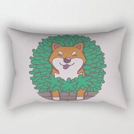 Just hangin' out here.. (Inu Series) Rectangular Pillow