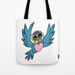 Lovely Owl Tote Bag