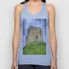 York Castle And Daffodils Unisex Tank Top