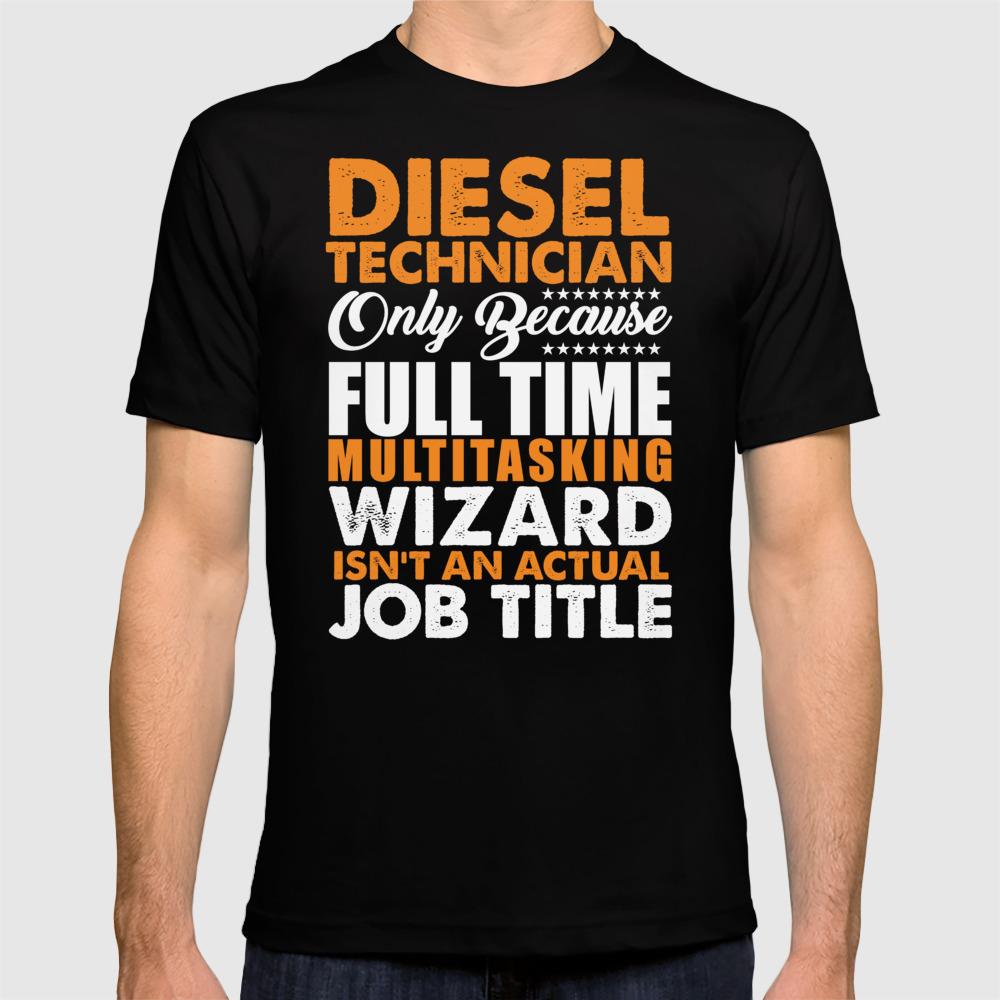 Diesel Technician Wizard T-shirt by Distrill TSR8837428