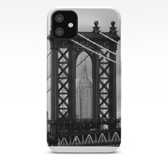 New York City Manhattan Bridge Trilogy Ii Iphone Case By Meleahfotografie