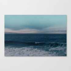 Blue California Ocean Canvas Print