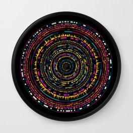 genome mosaic 5-1 Wall Clock
