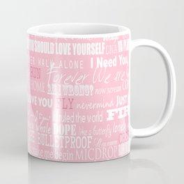 lyrics pink Coffee Mug