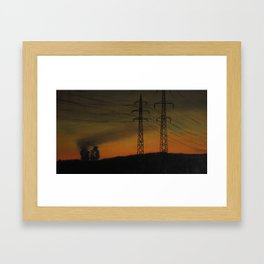 o_002_way_home_II Framed Art Print