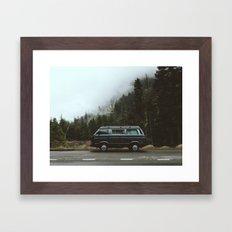 Northwest Van Framed Art Print