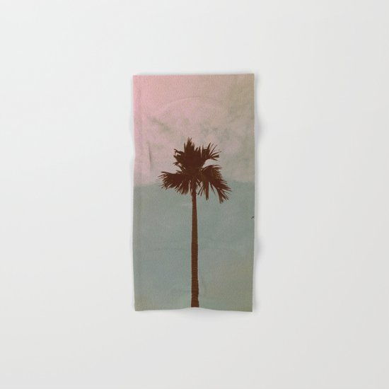 Palm Tree (vintage) Hand & Bath Towel