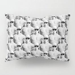 Cool Dudes / 3D render of male figures wearing sunglasses Pillow Sham