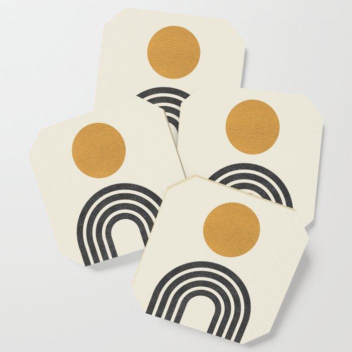 Mid century modern gold Coaster