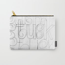 Stuck hand Carry-All Pouch
