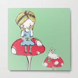 Always tea time Metal Print