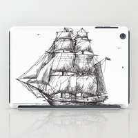 marine iPad Cases featuring marine by ismailburc