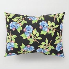 Wild Blueberry Sprigs Pillow Sham