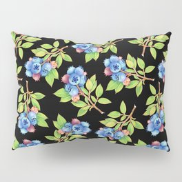 Wild Blueberry Sprigs Pillow Sham