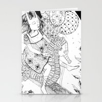 seahorse Stationery Cards featuring Seahorse by Amy Consolo