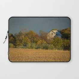 Abandoned Barn In The Trees Rural Nature / Landscape Photograph Laptop Sleeve