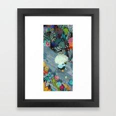 Rainworms Framed Art Print