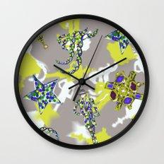 Star Jewel Wall Clock